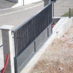 Installation d un portail coulissant