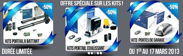 motorisation portail coulissant came promo