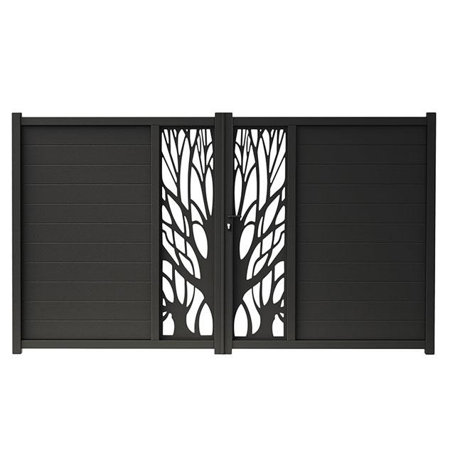 portail castorama 4m