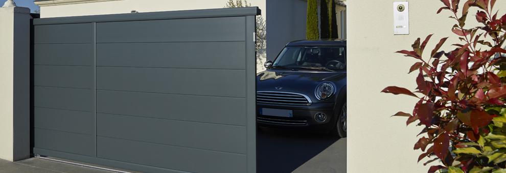 brico depot portail alu coulissant portail de garage. Black Bedroom Furniture Sets. Home Design Ideas