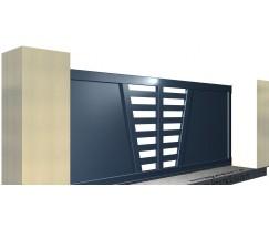 portail coulissant alu blanc simple portail coulissant alu blanc with portail coulissant alu. Black Bedroom Furniture Sets. Home Design Ideas