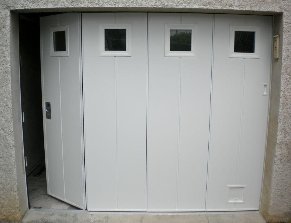 portail garage coulissant electrique